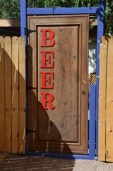 Beer door