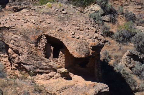 One of the dwellings in the canyon