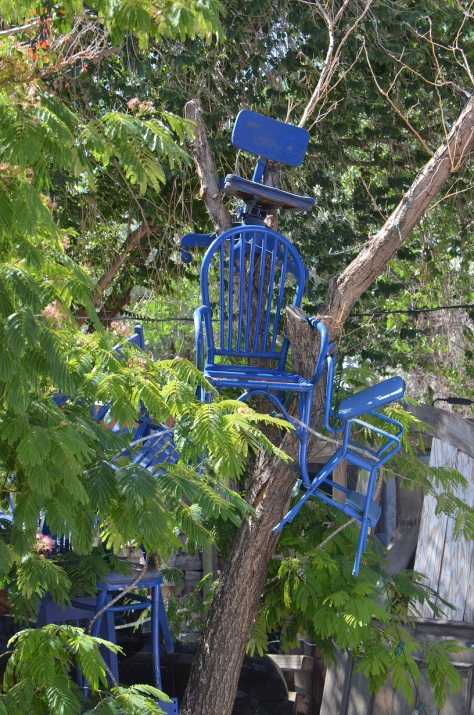 Another view of the chair tree